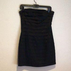 Bebe black dress!